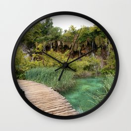 guided relaxation Wall Clock