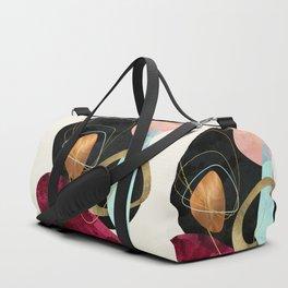 Abstract Pebbles II Duffle Bag
