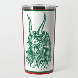 Here Comes Krampus! Travel Mug