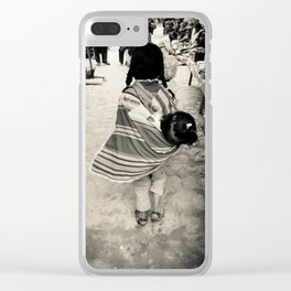 Sisterly Love in Tarabuco Market Clear iPhone Case