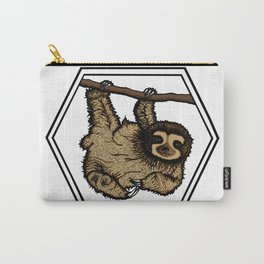 Sloth (transparent background) Carry-All Pouch