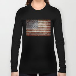 Old Glory, The Star Spangled Banner Long Sleeve T-shirt