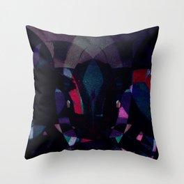 disquiet four Throw Pillow