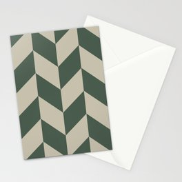 Parallelogram Pattern 5 Stationery Cards