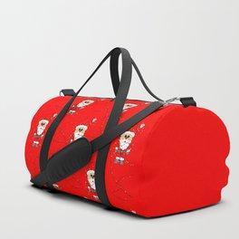 Merry Santa Duffle Bag