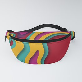The paper cut effect Fanny Pack