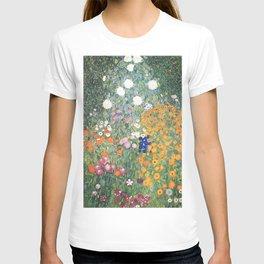 Flower Garden - Gustav Klimt T-shirt