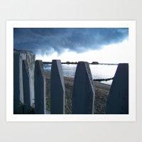 Cape Storm Art Print