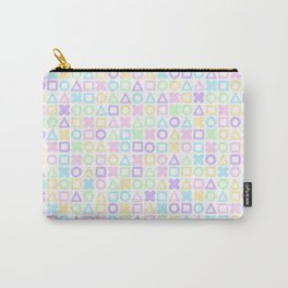 A weird game of pastel tic tac toe 2 Carry-All Pouch