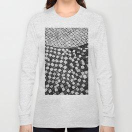 Mosaico A calçada portuguesa Long Sleeve T-shirt