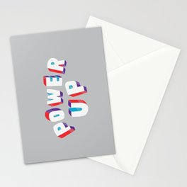 Power Up Stationery Cards