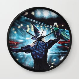 To Fly Wall Clock