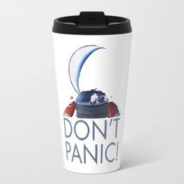 Spacex Starman DON'T PANIC Travel Mug