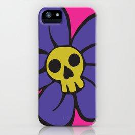 She kills me, she kills me not... iPhone Case