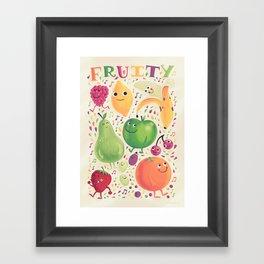 Fruity Framed Art Print
