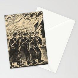 Natalia Goncharova - Mystical Images of War (1914) - Christian War Stationery Cards