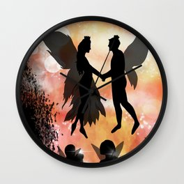The Wedding - Ella Springhollow Scene 7 Wall Clock