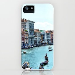 Along the Grand Canal iPhone Case