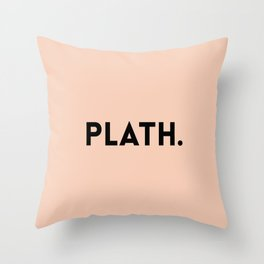 Sylvia Plath Throw Pillow