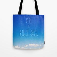 Blue Skies Tote Bag