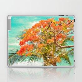 Summery Trees in Hawaii Laptop & iPad Skin