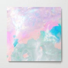Colour Cloud Metal Print