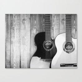 Acoustic Guitars Canvas Print
