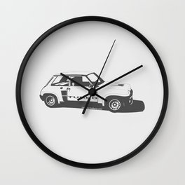 Renault 5 Turbo Wall Clock
