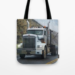 Delivery Done! Truck Art Tote Bag