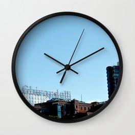 Ghiradelli Skyline Wall Clock