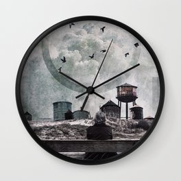 Living in the past Wall Clock