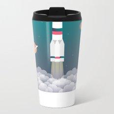 Lift Off Metal Travel Mug