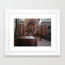 Basilika of Eger, Hungary 2 Framed Art Print