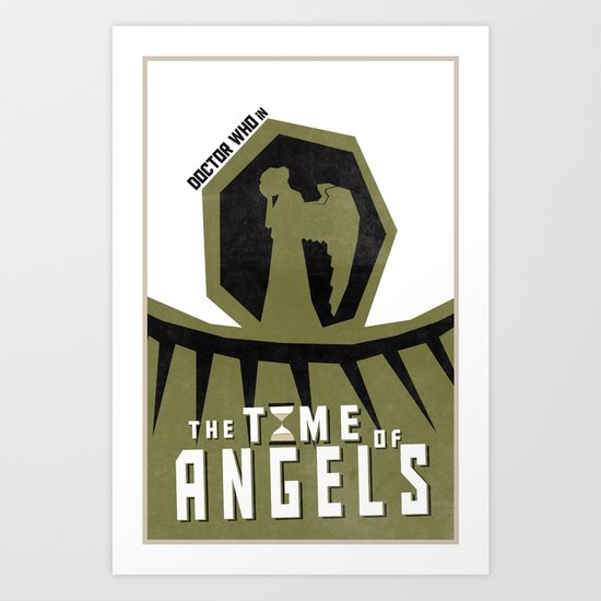 The Time of Angels (4 in a series of 13) Art Print