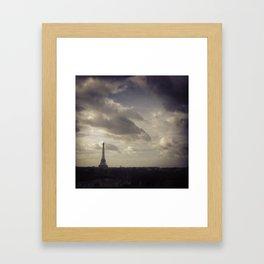 Ah, Paris! Framed Art Print