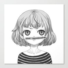 I don't know what to draw Canvas Print