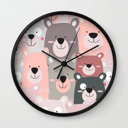 BEAR #5 Wall Clock