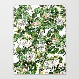 Botanical Leaf Canvas Print