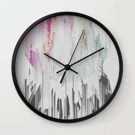RESURRECTION VOL.I ABSTRACT GEOMETRIC MINIMAL ART Wall Clock