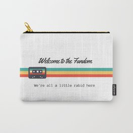 Welcome to the Fandom Collection Carry-All Pouch