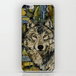 Wolf eyes iPhone Skin
