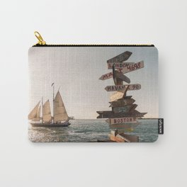 Sailboat in Key West Florida Carry-All Pouch