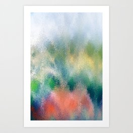 Abstract Reflections II Art Print
