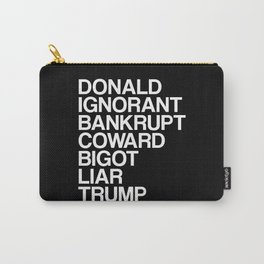 Trump List Carry-All Pouch