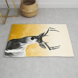 Deer Art Print Rug