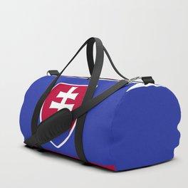 Slovakia flag emblem Duffle Bag