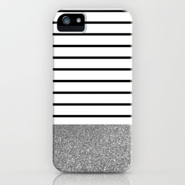 MaRINiera with silver iPhone Case