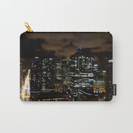 Chicago Night Skyline Carry-All Pouch