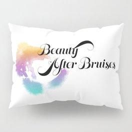 Beauty After Bruises (Black) Pillow Sham