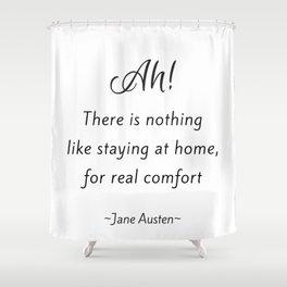 Jane Austen - Home Shower Curtain